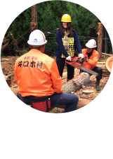 木こり体験ツアー